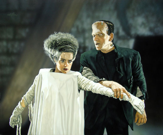 juxtaposition in frankenstein At the center of all the narrative frames in frankenstein is the tale of safie,   relate the doubling to the novel's recurrent juxtaposition of beauty and ugliness.